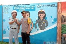 PT Jasa Raharja-Polres Pangkalpinang resmikan Kampung Lalulintas