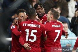 Hasil Liga Inggris, Liverpool ke puncak dan Cardiff terdegradasi