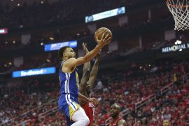 Stephen Curry siap dimainkan game 4 lawan Houston Rockets