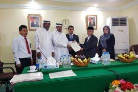 Kontrak layanan transportasi jamaah haji ditandatangani di Arab Saudi