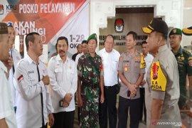 Kapolda Kalsel cek pengamanan  KPU jelang rapat pleno