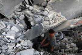 Serangan udara Israel hancurkan sekolah di Gaza