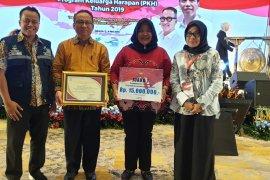 Pendamping Tabalong terbaik kompetisi  video testimoni  PKH