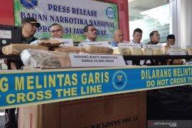 BNN Jawa Barat gagalkan penyelundupan ganja 70 kg
