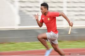 Pelari Zohri kembali rutin latihan setelah pulih dari cedera