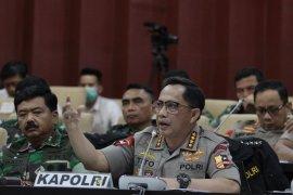 Panglima TNI-Kapolri berkunjung ke Mapolresta Sidoarjo