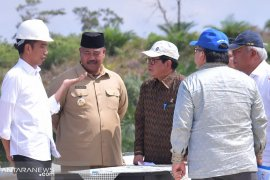 Presiden tinjau Samboja lokasi bakal Ibukota Negara