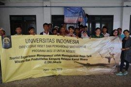 Vokasi UI gerakkan nelayan sadar digital wisata Jakarta
