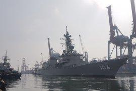 Nah ini, Kapal perang Jepang singgah di Jakarta usai jalankan misi di Somalia