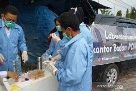 Loka POM Belitung lakukan uji sampel makanan buka puasa