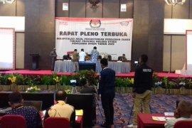 Pleno KPU Malut berlangsung alot