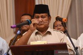 Ucapan duka Prabowo atas wafatnya Ibu Ani