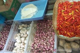 Ramadhan, harga bawang putih di Denpasar turun