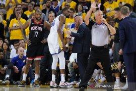 Warriors kehilangan Durant ungguli Rockets 3-2
