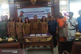 Pabrik Aqua Mambal dan BUMDes Mandala Sari luncurkan Program Kampung Mandiri di Badung