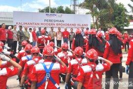 Telkom pasang 23.114 kilometer kabel akses di Kalimantan