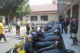 Polisi amankan puluhan sepeda motor balapan liar di Rejang Lebong