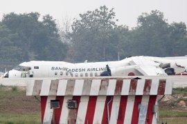 Pilot Myanmar selamat daratkan pesawat tanpa roda depan
