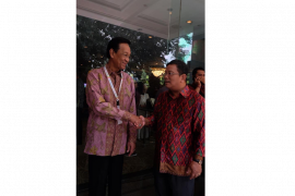 Bupati Sekadau Rupinus Hadiri Forum Perencanaan Musrenbangnas 2019