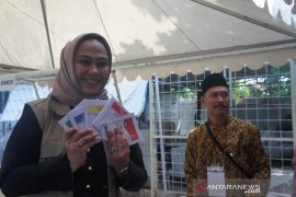 Partisipasi pemilih pemilu di Karawang 79,23 Persen