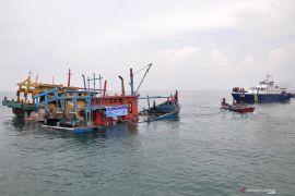 Polda Sumut serahkan kapal nelayan asing ilegal ke PSDKP Belawan