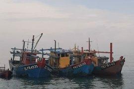 Kajari Belawan: Tiga kapal nelayan asing dimusnahkan