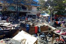 Korsleting listrik diduga penyebab kebakaran Pasar Minggu
