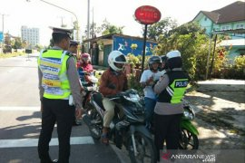 Satlantas Polres Belitung keluarkan 166 surat tilang