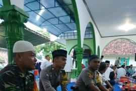 Polsek Belinyu ikuti kegiatan safari Ramadhan Bupati Bangka