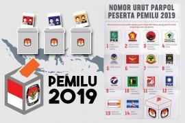 Rekapitulasi nasional KPU cakup 26 provinsi