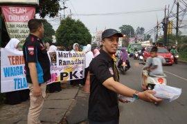 Bentuk syukur kemenangan, PKS bagikan ribuan takjil