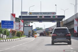 Asyik, gerbang tol Marelan di jalur Medan-Binjai sudah dibuka