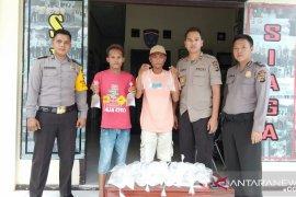 Polsek Puding Besar berhasil amankan 56 kantong arak