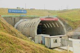 Tunnel Walini Kereta Cepat Jakarta-Bandung sudah berhasil ditembus