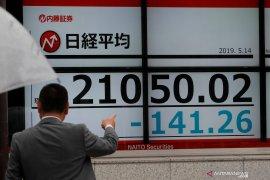 Saham Tokyo menguat ditopang pelonggaran aturan perbankan AS