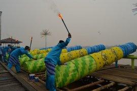 Festival meriam karbit meriahkan malam Takbiran di Kota Pontianak