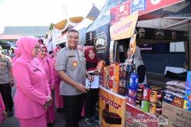 Semua produk dijual murah di Bazar Ramadhan Polda