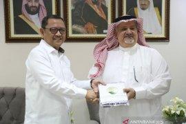 Kerajaan Arab Saudi memberikan 100 ton kurma ke Kemensos Indonesia
