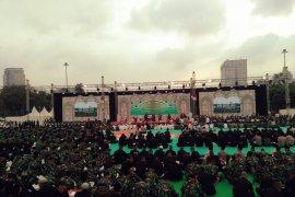 Presiden Jokowi akan tambah 100 jabatan perwira tinggi TNI-Polri