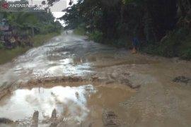 Warga Penajam minta pemerintah perbaiki jalan Trans Kalimantan