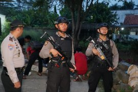 Terduga teroris jaringan ISIS di Cibinong Bogor ditangkap