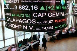 Saham Prancis  melemah, Indeks CAC 40 ditutup turun 0,34 persen