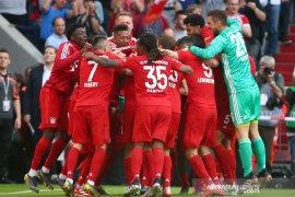 Muenchen pastikan gelar juara Liga Jerman