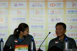 Indonesia andalkan dua sektor hadapi Inggris di Piala Sudirman