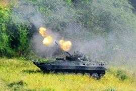 1.000 Marinir latihan tempur di Situbondo