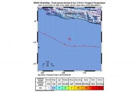 Gempa magnitudo 5,9 guncang Pangandaran