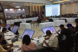 Rekapitulasi nasional KPU sudah capai 28 provinsi