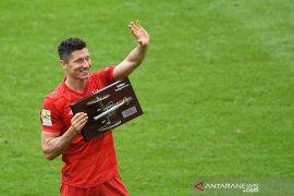 Liga Jerman - Lewandowski pertahankan gelar top skor dua musim beruntun