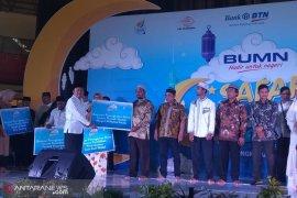 BUMN hadir untuk negeri donasi Rp850 juta untuk korban banjir Bengkulu