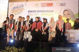 ACT kumpulkan Rp418 Juta donasi di konser amal